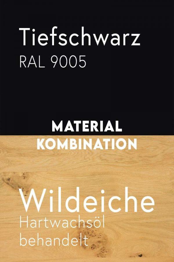 material-kombination-holz-eiche-massivholz-wildeiche-mit-aesten-metall-stahl-mit-pulverbeschichtung-tiefschwarz-ral-9005