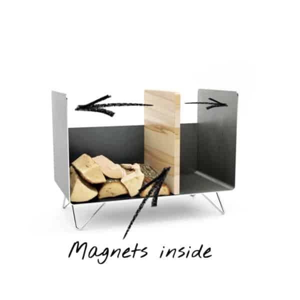 kaminholzregal-innen-brennholzregal-holzaufbewahrung-metall-design-modern-holz-aufbewahrung-kaminholz-brennholz-stahl-schwarz-grau-edelstahl-buche-magnets-inside-magic-2-new