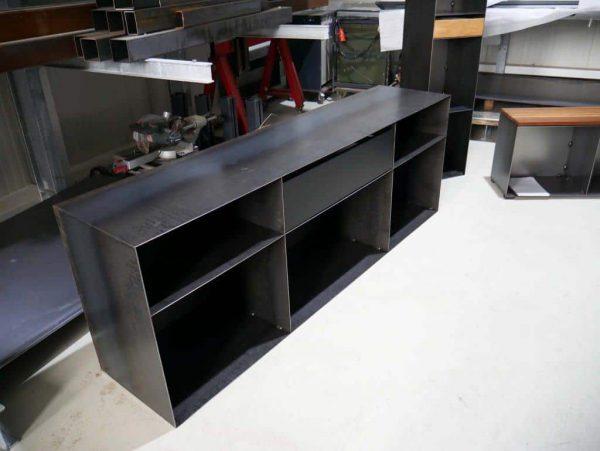 kommode-sideboard-schwarz-grau-mit-schublade-metall-modern-design-classic-049