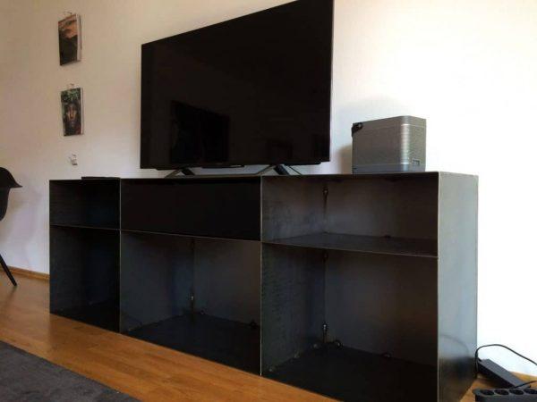 kommode-sideboard-schwarz-grau-mit-schublade-metall-modern-design-stahl-zunderstahl-classic-049