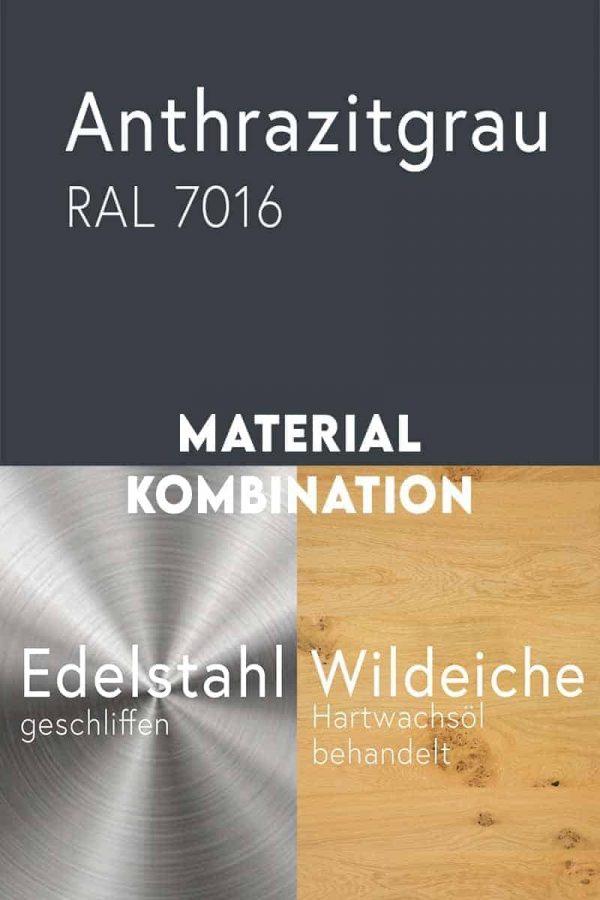 material-kombination-holz-eiche-massivholz-wildeiche-mit-aesten-metall-stahl-mit-pulverbeschichtung-anthrazitgrau-ral-7016-edelstahl-geschliffen