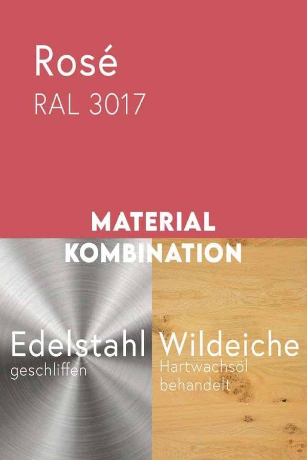 material-kombination-holz-eiche-massivholz-wildeiche-mit-aesten-metall-stahl-mit-pulverbeschichtung-rose-ral-3017-edelstahl-geschliffen