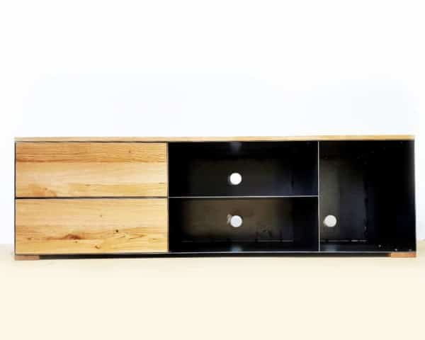 tv-sideboard-lowboard-tv-board-moebel-holz-schwarz-eiche-massivholz-grau-metall-design-modern-mit-schubladen-stahl-p3