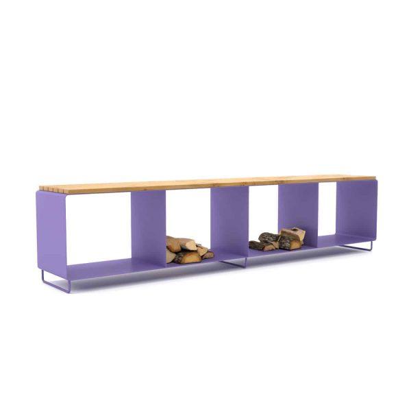 gartenbank-sitzbank-designermoebel-holz-metall-bank-mit-stauraum-fuer-draussen-aussenbereich-design-modern-eiche-wildeiche-massiv-lavendel-lila-stahlzart-flamma-l