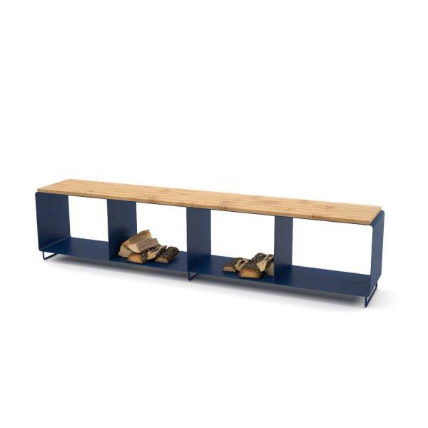 gartenbank-sitzbank-holz-metall-designermoebel-bank-mit-stauraum-fuer-draussen-aussenbereich-design-modern-eiche-wildeiche-massiv-dunkelblau-flamma-l