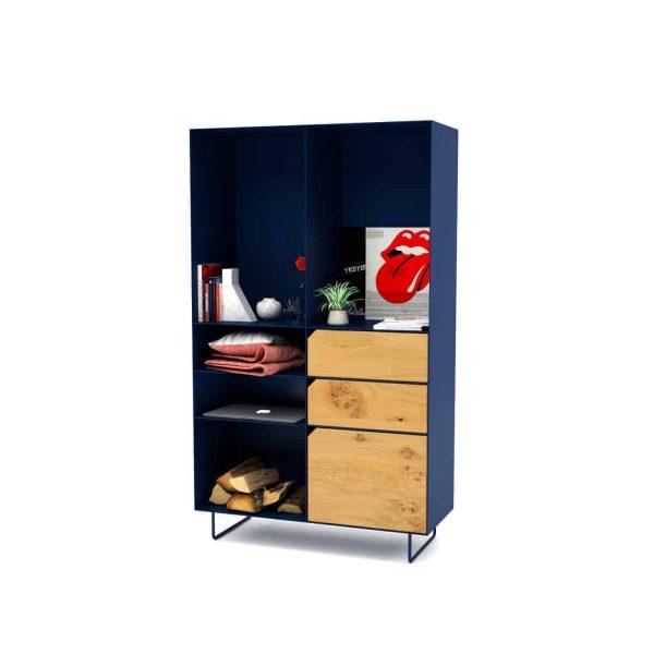 highboard-kommode-schlafzimmer-eiche-holz-mit-tuere-massivholz-modern-design-metall-wildeiche-dunkelblau-stahl-mit-schubladen-mit-fuessen-classic