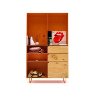 highboard-kommode-schlafzimmer-eiche-holz-mit-tuere-massivholz-modern-design-metall-wildeiche-gelborange-stahl-mit-schubladen-mit-fuessen-classic