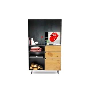 highboard-kommode-schlafzimmer-eiche-holz-mit-tuere-massivholz-modern-design-metall-wildeiche-schwarz-grau-stahl-mit-schubladen-mit-fuessen-classic