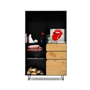 highboard-kommode-schlafzimmer-eiche-holz-mit-tuere-massivholz-modern-design-metall-wildeiche-schwarz-stahl-mit-schubladen-mit-fuessen-classic