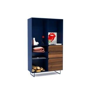 highboard-kommode-schlafzimmer-nussbaum-holz-mit-tuere-massivholz-modern-design-metall-walnuss-dunkelblau-stahl-mit-schubladen-mit-fuessen-classic