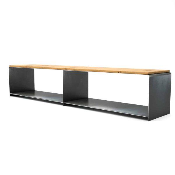 lowboard-tv-board-moebel-fernsehtisch-bank-tisch-schwarz-grau-holz-eiche-metall-design-modern-massivholz-stahl-rohstahl-merapi-2