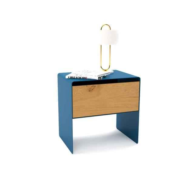 nachttisch-nachtkonsole-nachtschrank-nachtkaestchen-nachtkommode-holz-eiche-metall-modern-design-massivholz-gruen-blau-mnmlsm-mystery