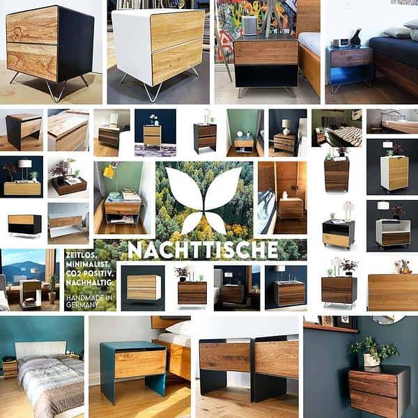 stahlzart-nachttische-weiss-schwarz-grau-anthrazit-holz-eiche-buche-akazie-metall-modern-design-industrial-style-massivholz-wildeiche-nussbaum-kirsche-ahorn-fichte-schlafzimmer
