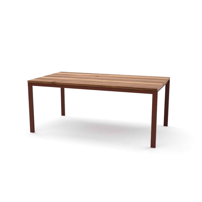 Bauhaus Tisch und Bank aus Nussbaum | ORPHELIA Set