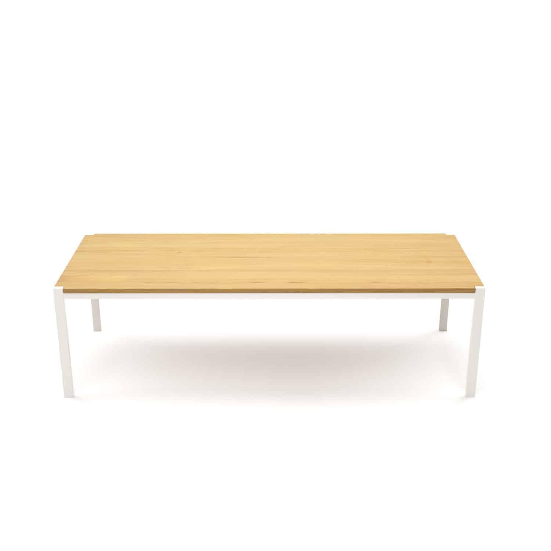 Tisch Ferrum 003 Holz Metall Eiche Astfrei Weiss Esstisch Gartentisch Mobel Online Shop Designmobel Aus Holz Massivholz Metall Stahlzart