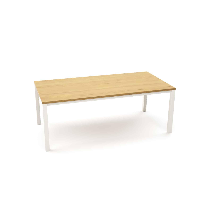 Tisch Ferrum 005 Holz Metall Eiche Astfrei Weiss Esstisch Gartentisch Stahlzart Mobel