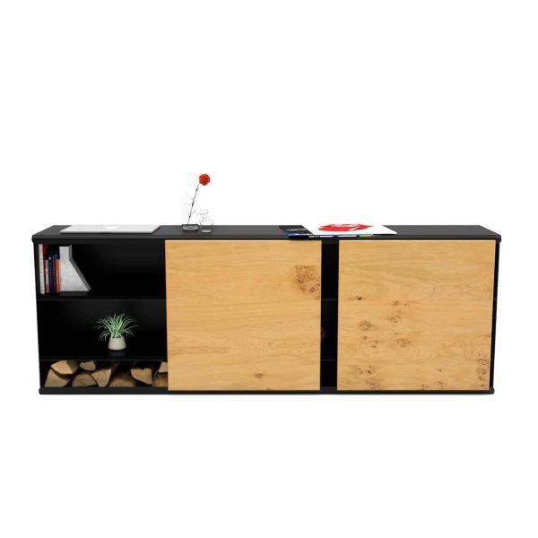 kommode-sideboard-holz-eiche-schwarz-massivholz-design-metall-modern-wildeiche-mit-schiebetueren-stahl-pulverbeschichtet-the-flowboard-neu