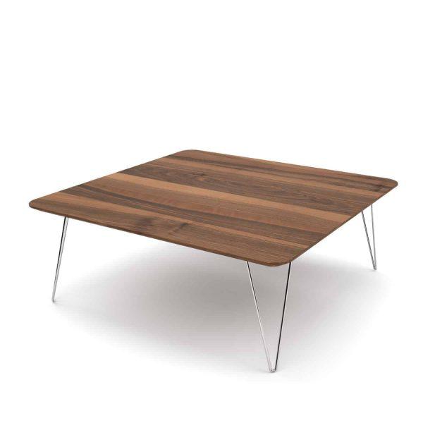 couchtisch-wohnzimmertisch-holz-modern-massivholz-metall-design-nussbaum-quadratisch-edelstahl-mit-hairpin-fuessen-fly-high-2
