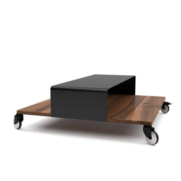 couchtisch-wohnzimmertisch-holz-schwarz-modern-massivholz-metall-design-nussbaum-quadratisch-klein-mit-rollen-massiv-stahl-aluminium-m.a.m.-1