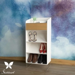 schuhschrank-weiss-flurmoebel-schmal-schuhkommode-holz-metall-modern-eiche-design-massivholz-wildeiche-stahl-interior-flur-fly-high-1