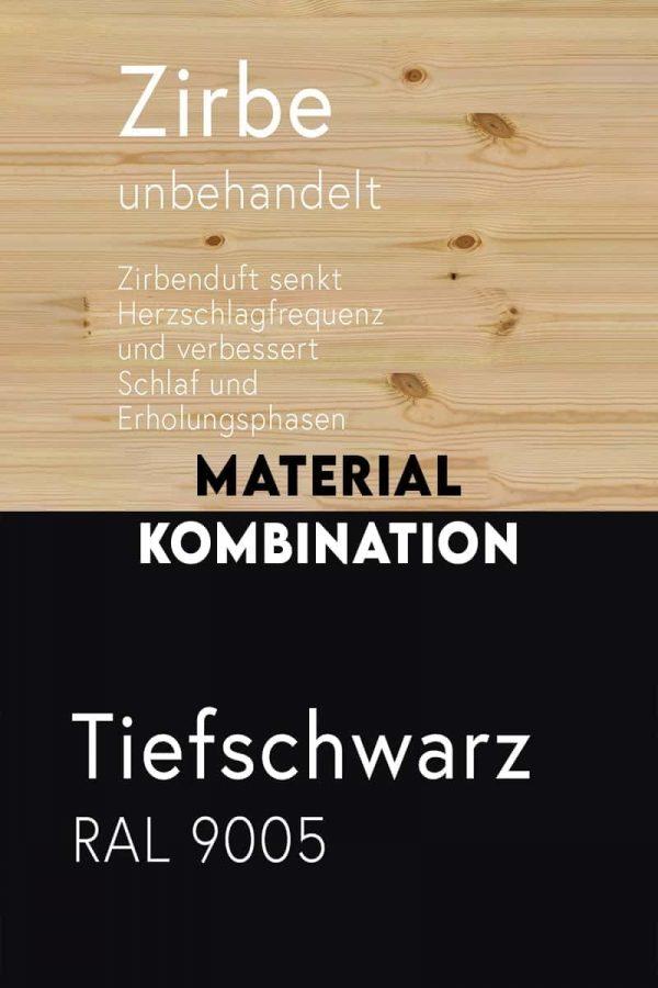 material-kombination-holz-zirbe-massivholz-zirbenholz-unbehandelt-gesundheits-foerdernd-metall-stahl-mit-pulverbeschichtung-tiefschwarz-ral-9005