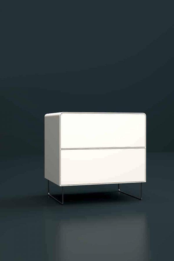 nachttisch-weiss-metall-modern-design-designer-mit-schubladen-stahl-edelstahl-fly-high-5s