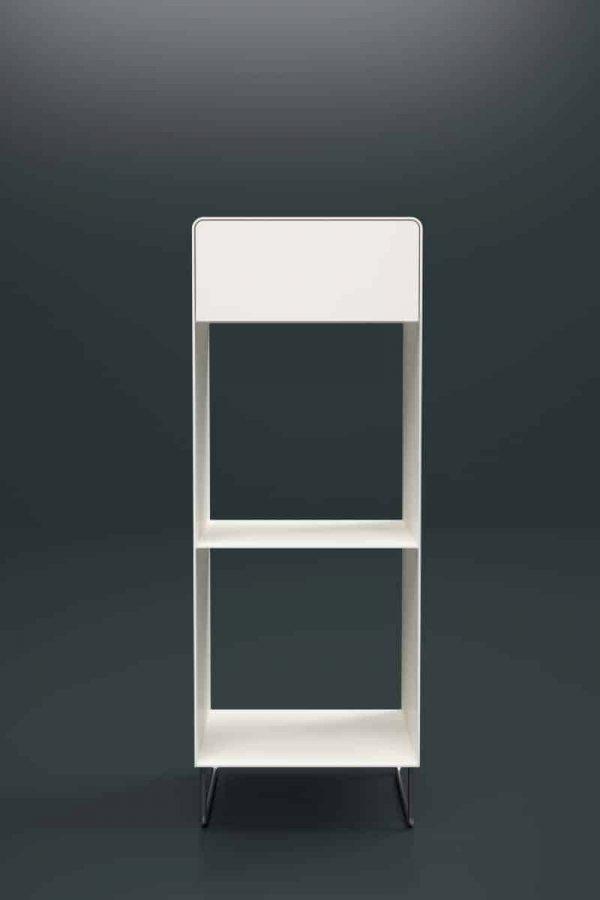 regal-weiss-metall-chrom-design-modern-designer-edelstahl-mit-schublade-minimalistisch-fly-high-1s-snow-white