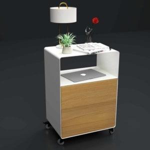 nachttisch-fuer-boxspringbett-weiss-holz-eiche-metall-modern-design-massivholz-eiche-astfrei-mit-rollen-designer-stahl-interior-schlafzimmer-stahlzart
