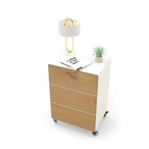 nachttisch-fuer-boxspringbett-weiss-holz-eiche-metall-modern-design-mit-schubladen-mit-rollen-wildeiche-designer-schlafzimmer-stahlzart