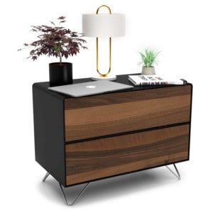 nachttisch-schwarz-holz-metall-modern-industrial-design-massivholz-nussbaum-mit-schublade-schlafzimmer-minimalistisch-fly-high-6-stahlzart