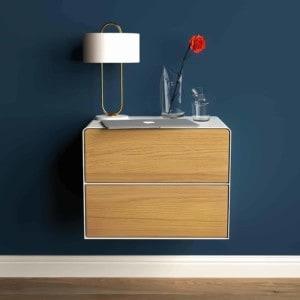 nachttisch-weiss-haengend-holz-eiche-metall-modern-industrial-design-massivholz-mit-schublade-schlafzimmer-minimalistisch-stahlzart
