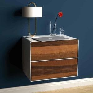 nachttisch-weiss-haengend-holz-metall-modern-industrial-design-massivholz-nussbaum-mit-schublade-schlafzimmer-minimalistisch-stahlzart