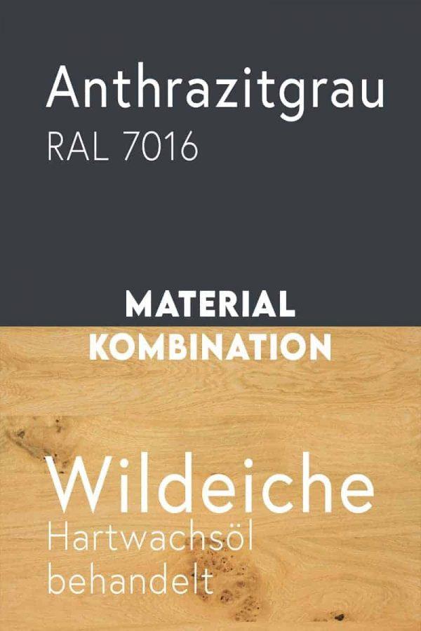 material-kombination-holz-eiche-massivholz-wildeiche-mit-aesten-metall-stahl-mit-pulverbeschichtung-anthrazitgrau-ral-7016