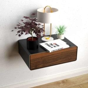 nachttisch-schwarz-grau-haengend-holz-metall-modern-design-massivholz-nussbaum-mit-schublade-minimalistisch-stahl-dreams-1