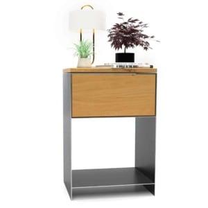 nachttisch-schwarz-grau-holz-eiche-metall-modern-design-massivholz-wildeiche-mit-schublade-mit-offenem-fach-minimalistisch-classic-1