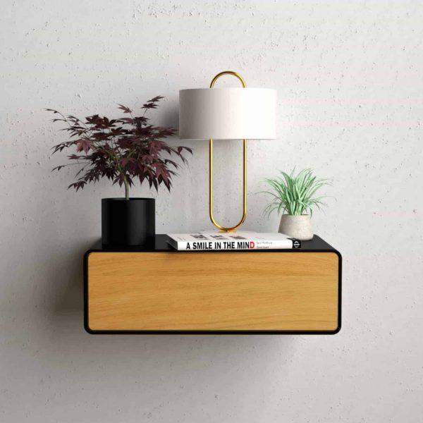 nachttisch-schwarz-haengend-holz-eiche-metall-modern-design-massivholz-wildeiche-mit-schublade-minimalistisch-stahlzart-dreams-1