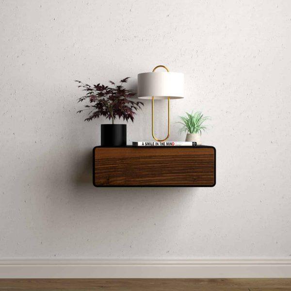 nachttisch-schwarz-haengend-holz-metall-modern-design-massivholz-nussbaum-mit-schublade-minimalistisch-schlafzimmer-dreams-1