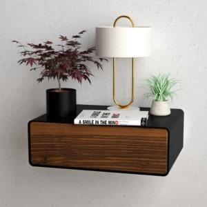 nachttisch-schwarz-haengend-holz-metall-modern-design-massivholz-nussbaum-mit-schublade-minimalistisch-stahlzart-dreams-1