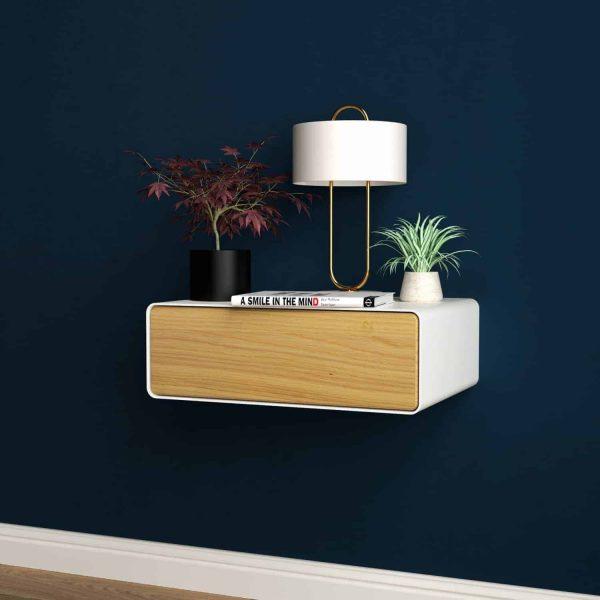 nachttisch-weiss-haengend-holz-eiche-metall-modern-design-massivholz-mit-schublade-minimalistisch-schlafzimmer-stahlzart-dreams-1