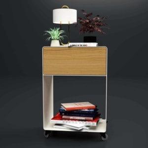 nachttisch-weiss-holz-eiche-astfrei-metall-modern-design-massivholz-mit-schublade-minimalistisch-mit-rollen-fuer-boxspringbett-m.a.m.-3