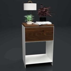 nachttisch-weiss-holz-metall-modern-design-massivholz-nussbaum-mit-schublade-schlafzimmer-fuer-boxspringbett-minimal-classic-1