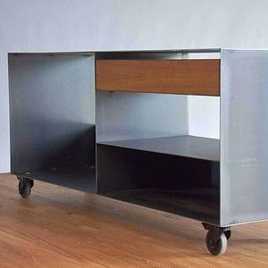 kaminholzregal-metall-innen-sideboard-stahl-mit-schublade-mit-rollen-grau-schwarz-modern-minimalistisch-b-ware-stahlzart-now-nr-82